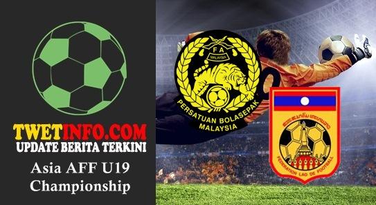 Prediksi Malaysia U19 vs Laos U19, AFF U19 04-09-2015
