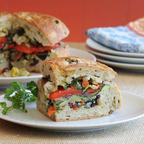Have Recipes-Will Cook: Vegan Muffuletta Sandwich
