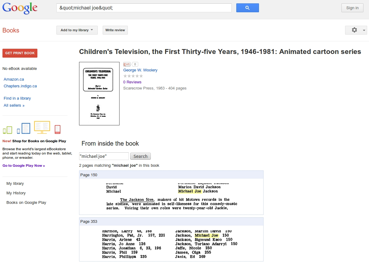 Mjjinfo michael jacksons birth name truelegal name new york 16 magazine inc oclc 31379953 p27 woolery george w jackson 5ive the childrens television the first thirty five years 1946 1981 part aiddatafo Image collections
