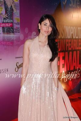 Kareena Kapoor at Cosmopiltan Awards
