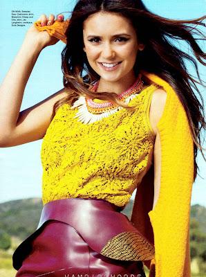 Nina Dobrev Seventeen Magazine October 2012 Cover Shoot
