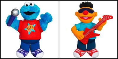 Let's Rock Cookie Monster and Ernie