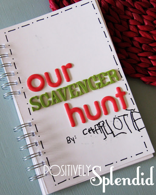 Fun Outdoor Photo Scavenger Hunt {boredom buster}