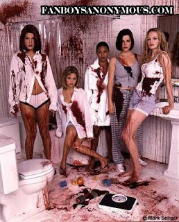 sexy blood girls ladies gore porn scream horror comedy kinky
