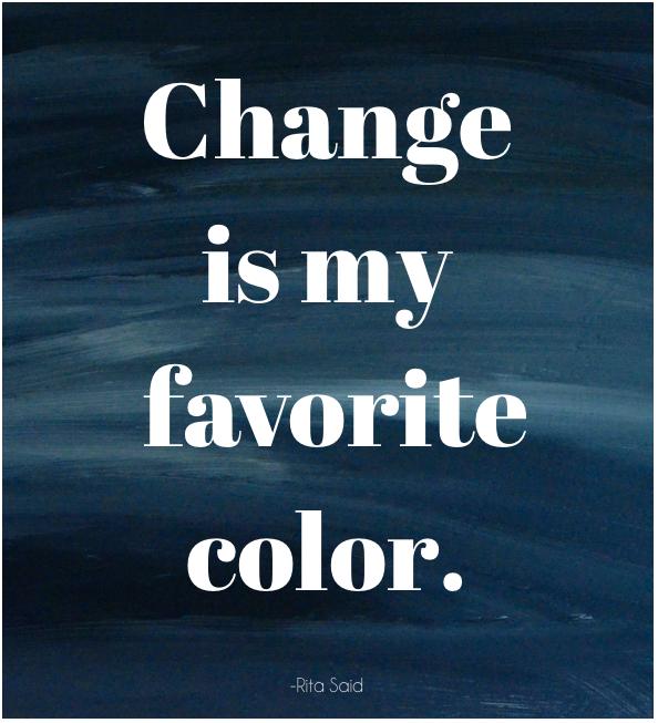 Take a change