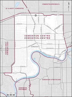 Strategic voting in Edmonton Centre