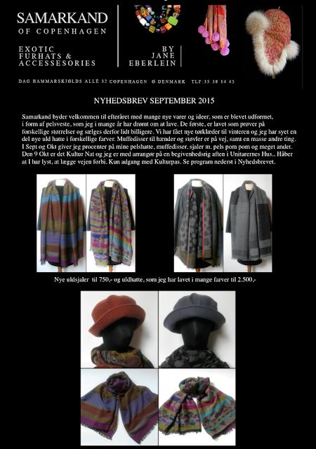 tørklæder, hatte, uldtørklæder, uldtørklæde, uldhuer, uldhatte, samarkand, jane eberlein, sjaler
