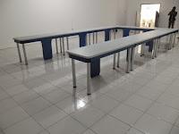 furniture kantor semarang - meja rapat kaki stainless 02