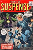 Tales of Suspense #1 comic cover