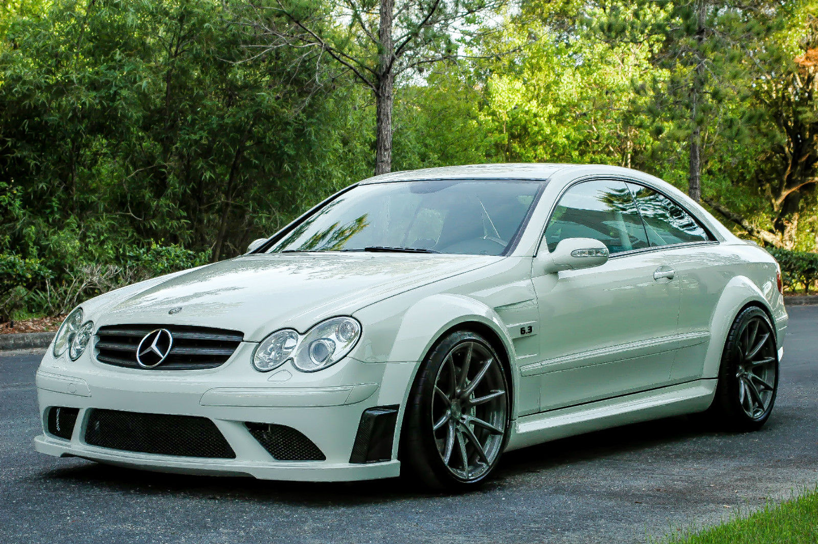2008 mercedes clk 63 amg black series will grow some hair. Black Bedroom Furniture Sets. Home Design Ideas