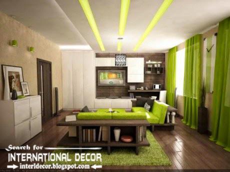 modern pop false ceiling designs ideas 2015 led lighting for living room
