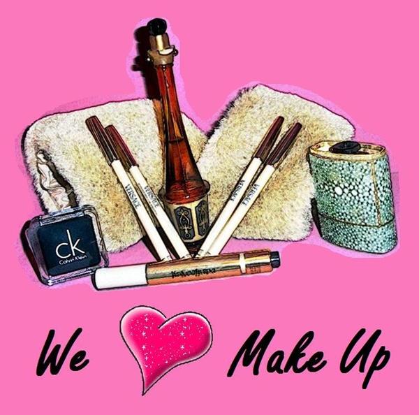 Pricilando: We Love Make Up!!