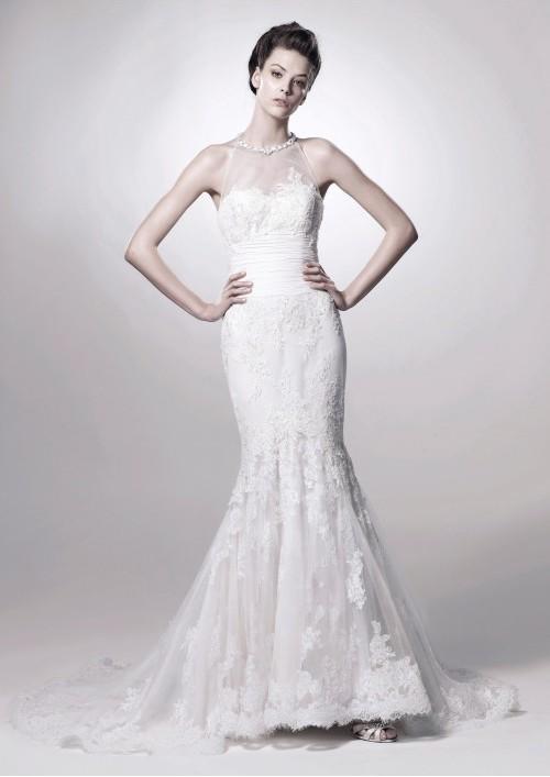 Bride In Dream Choose Mermaid Wedding Gowns To Enhance