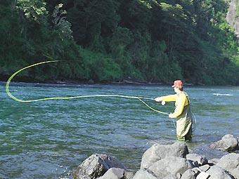 zonas de pesca deportiva: