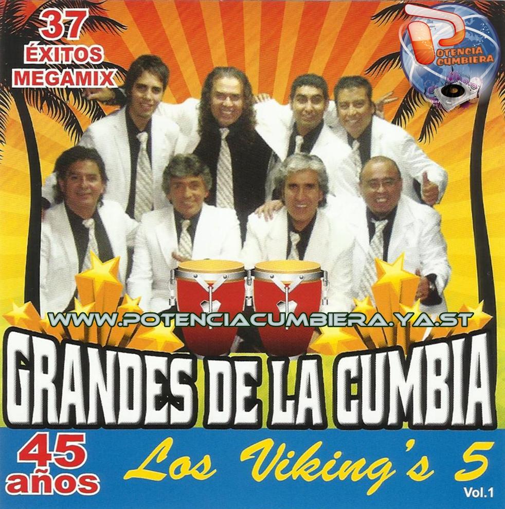 Etiquetas: Los Vikings 5 - Grandes de la Cumbia Volumen 1 CD 2012