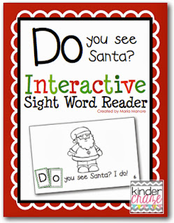 Do you See Santa Interactive Sight Word Reader
