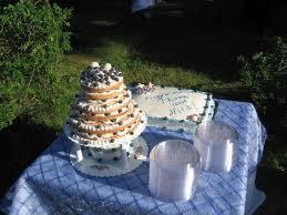 blue wedding cakes pict