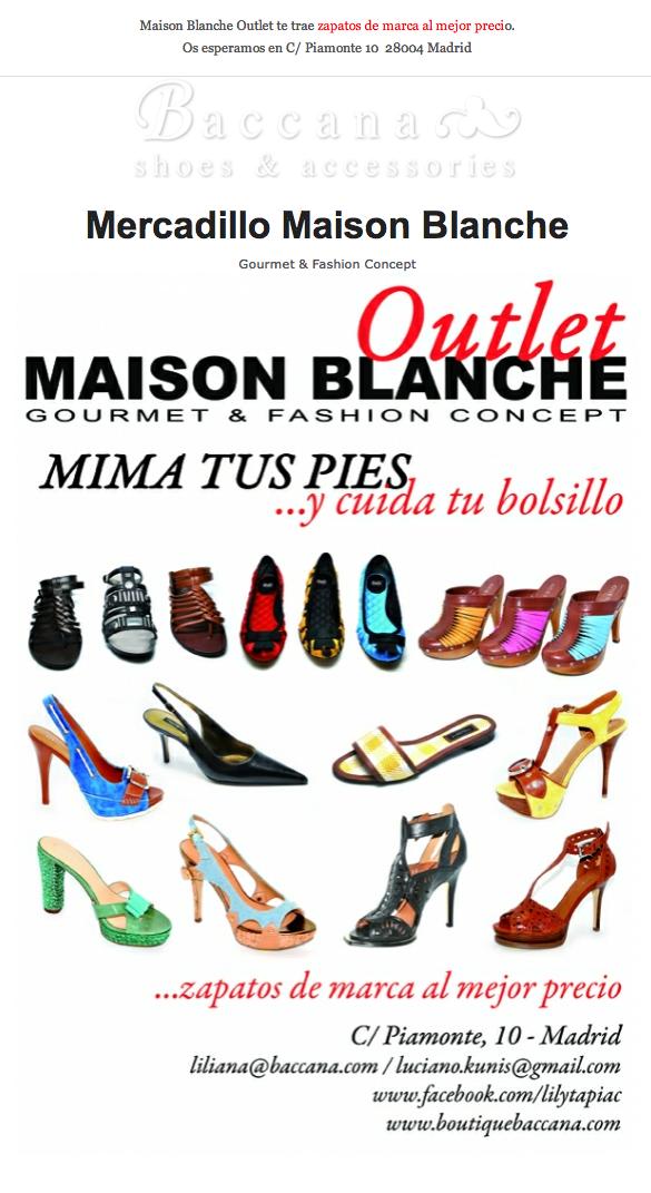 Outlet de Zapatos de marca a los mejores precios en la Maison Blanche