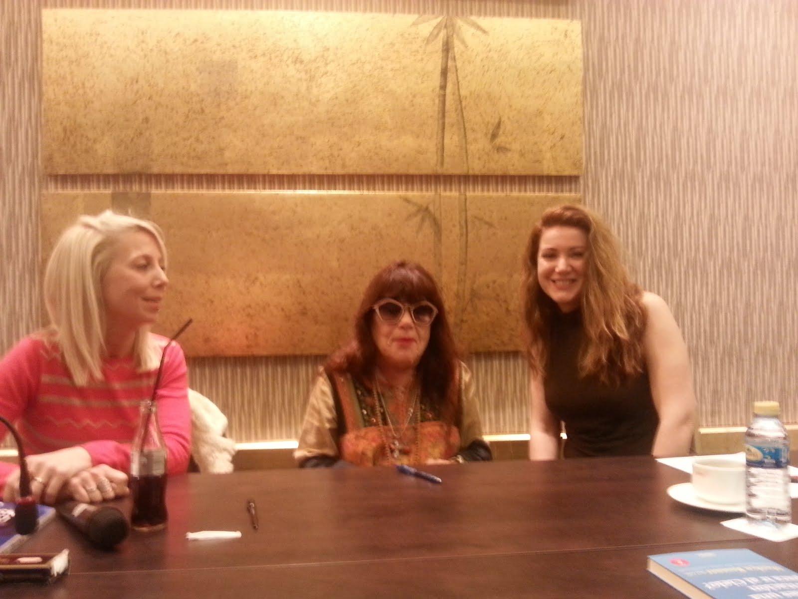 Con Paula Guía y Marilyn Rossner
