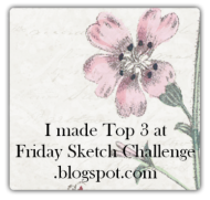 Top3  Friday Sketch Challenges