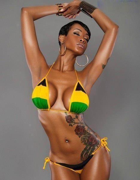Nas cores da Jamaica