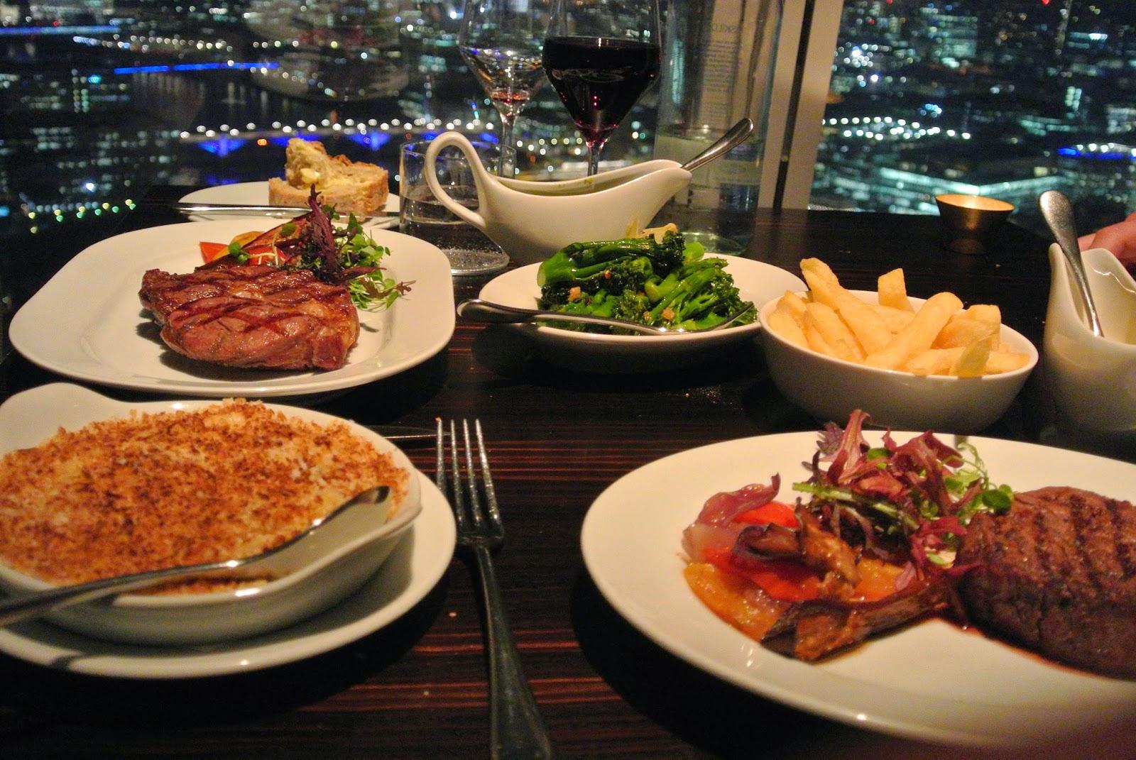 Oblix Restaurant Food