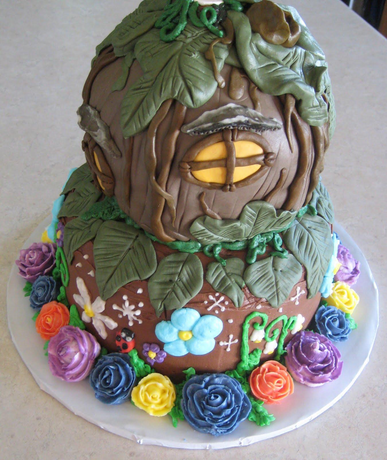 Birthday Cakes Tinkerbell Fairy