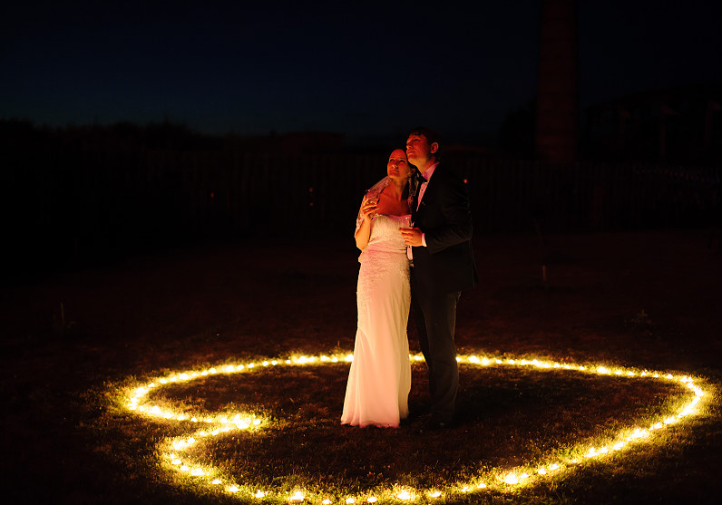 romantiška vestuvinė fotografija