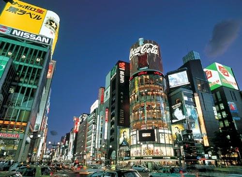 Japan Tours Travel Honeymoon Tokyo Ginza