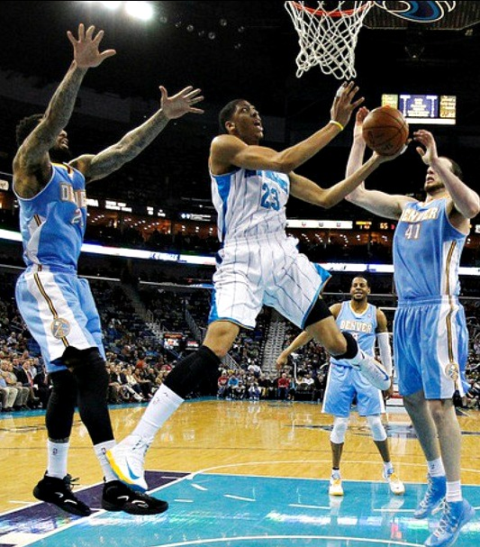 Hoops And Style: Nuggets Vs Hornets: New Orleans Ends