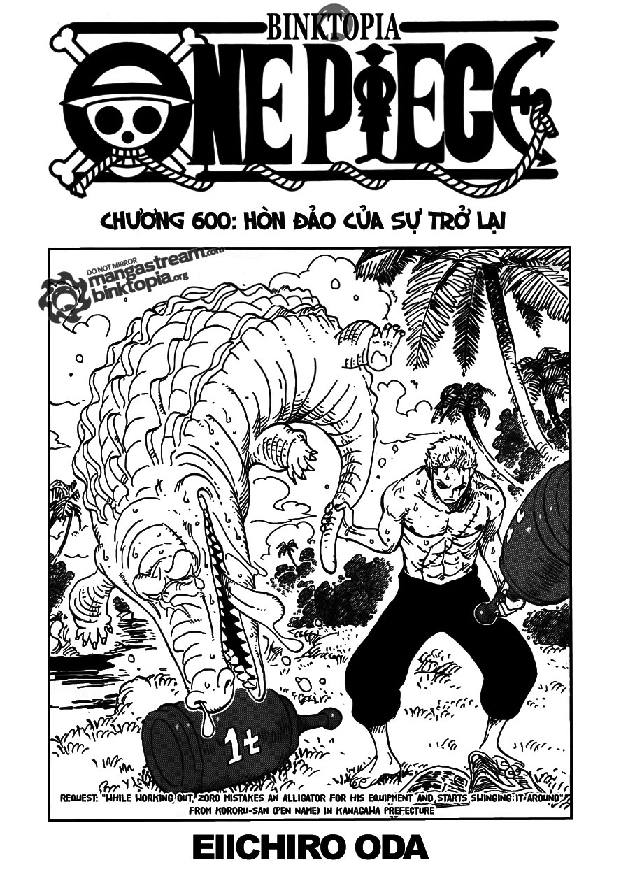 Chapter+0600 01, One Piece chap 600    NarutoSub