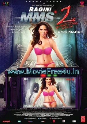 Poster of Baby Doll   Ragini MMS 2 (2014) Video Song 720P HD single video song  free download at moviefree4u.in