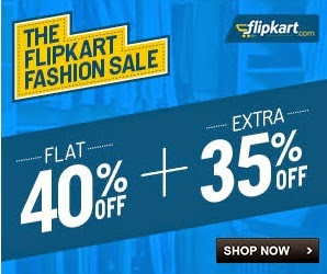 Men's Clothing: Flat 40% Off + Extra 37% Off @ Flipkart (Valid on Min Cart Value of Rs.2199 or above)