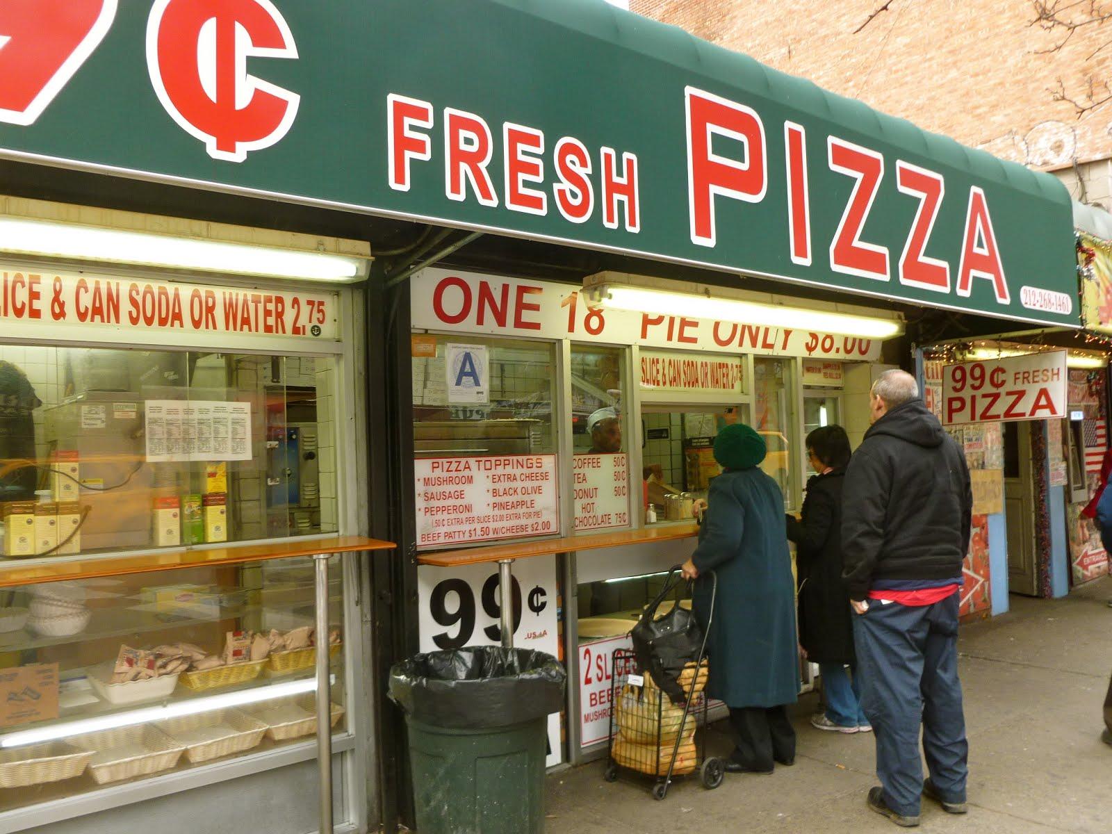 Jeremiahs Vanishing New York 99 Cent Fresh Pizza