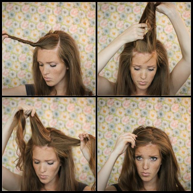 Как сделать объем на голове с фото 82