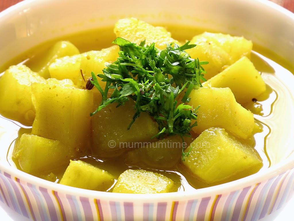 Sweet Potato Sabzi