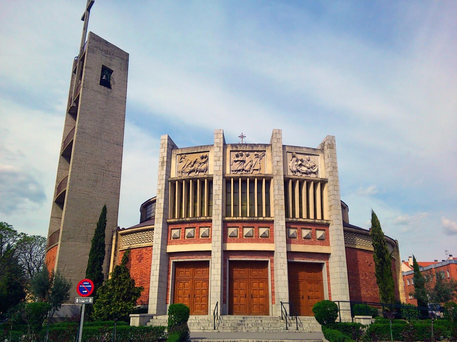 Iglesia del carmen arquitectura eclesi stica - Arquitectos en segovia ...
