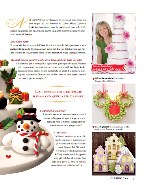 Revista italiana Christmas Cake