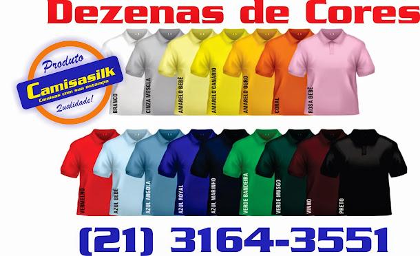 Temos dezenas de cores !