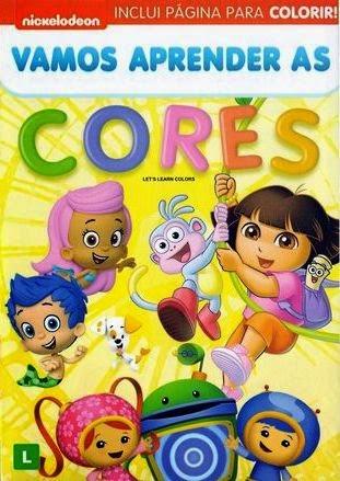 Nickelodeon: Vamos Aprender as Cores   DVDRip AVI + RMVB Dublado