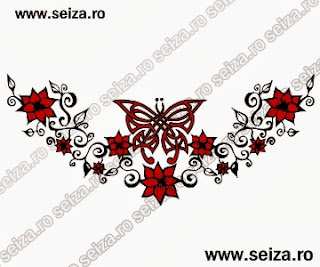 lower back tattoo / butterfly tattoo