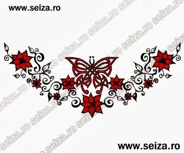 lower back tattoo / butterfly tattoo