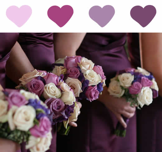 decoracao branco e lilas para casamento:decoraçao azul , lilas , rosa e branco #