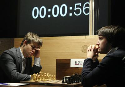 Magnus Carlsen 1/2 Teimour Radjabov
