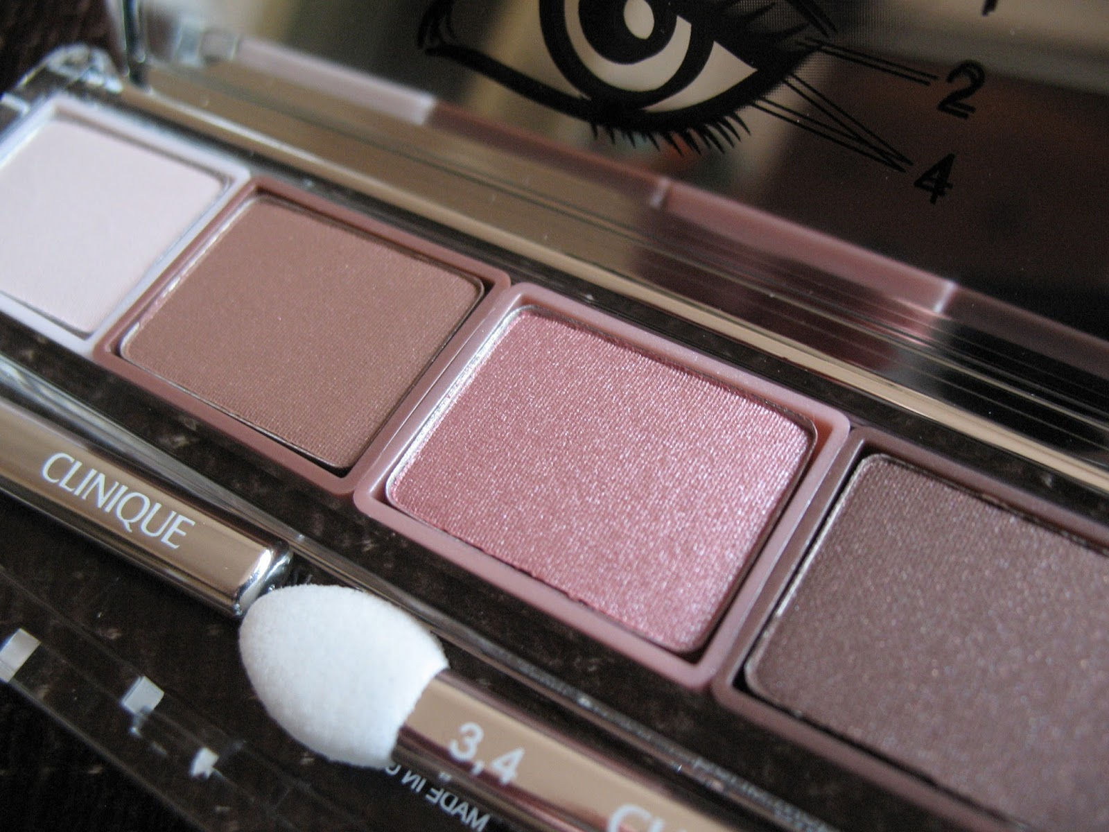 Clinique All About Shadow Quad 'Pink Chocolate' | review, photos