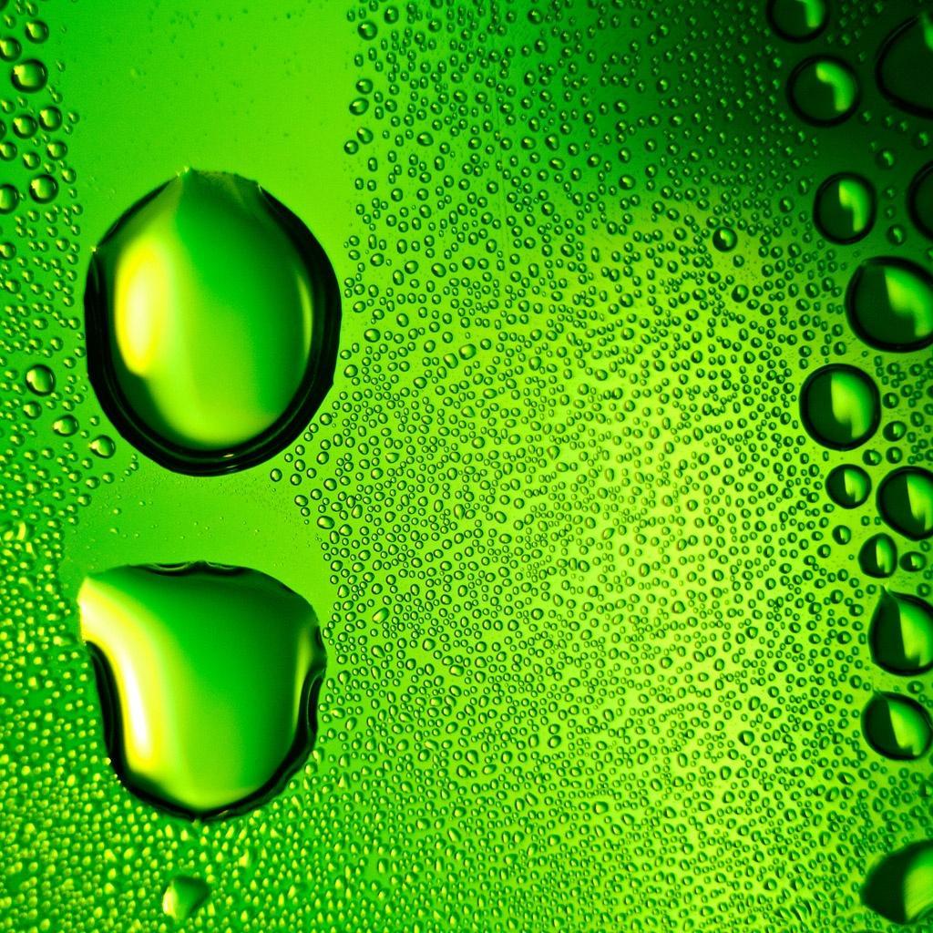 iPad-Backgrounds: Green Water iPad Backgrounds