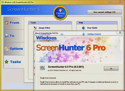 WisdomSoft ScreenHunter Pro 6 Screen Shots