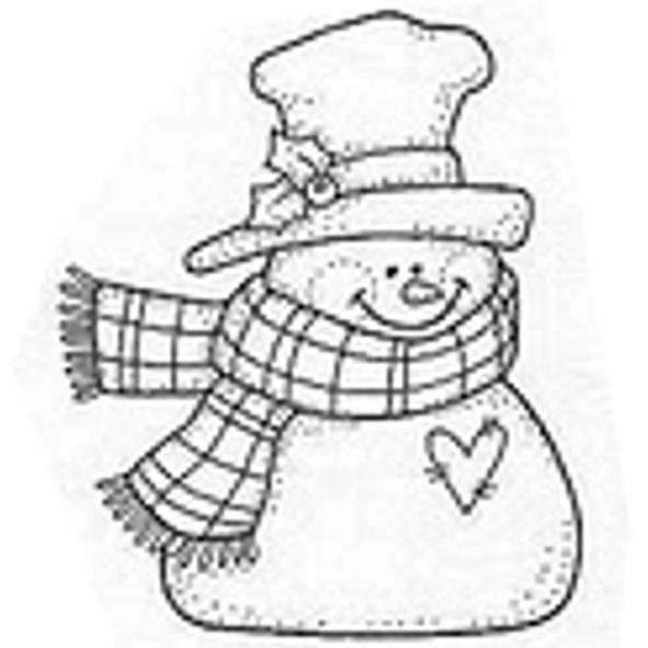 Dibujos y Plantillas para imprimir: Muñecos de Nieve