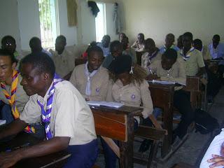 Stage préparatoire des managers du mouvement scout
