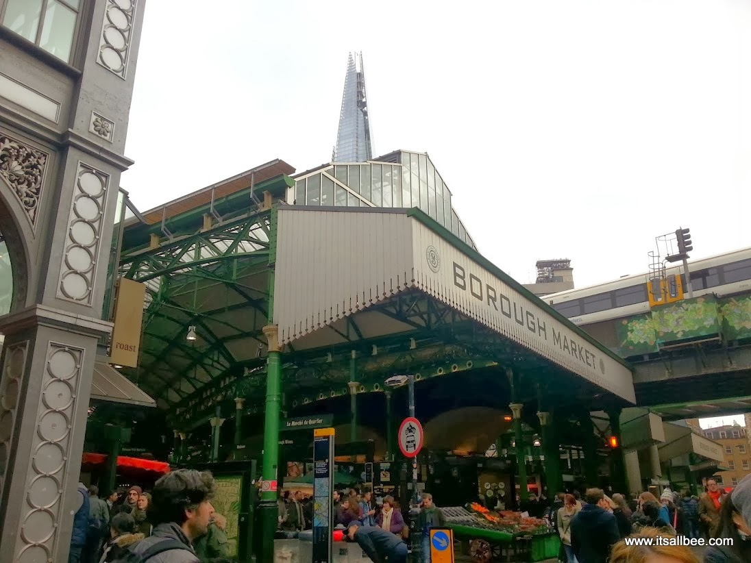 Breakfast at Borough Market